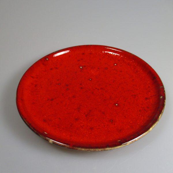 Unterteller rot ; 13,5 cm 9€